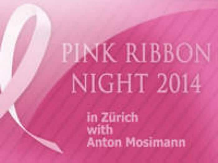Zürich, Pink Ribbon Gala Night, 2014