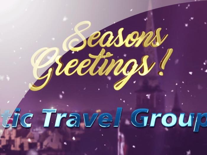 Ziemassvētku apsveikumi no Baltic Travel Group