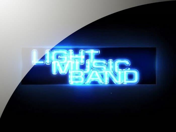 Light Music Band - Koncertu uzņemšana