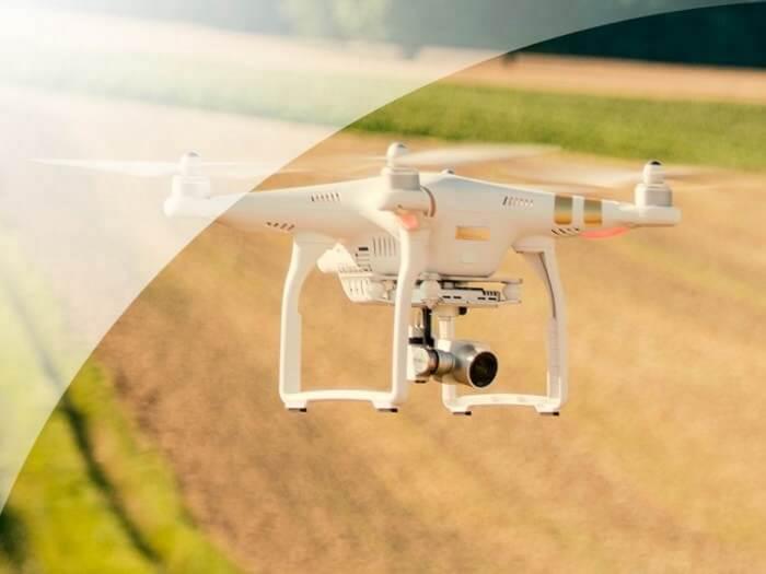 Aerouzņemšana – Prezentācija ar iespēju uzņemt video ar kvadrokopteru ar kameru
