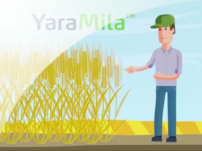 Yara uzņēmuma animācijas reklāma