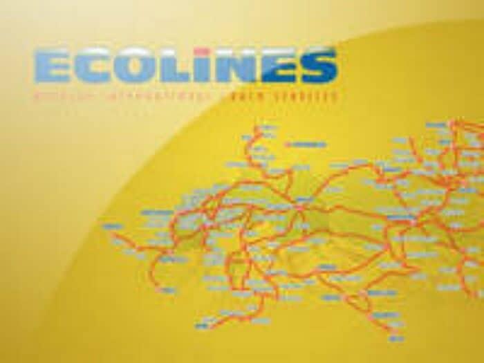Starptautiskās autobusu uzņēmuma Ecolines video prezentācija