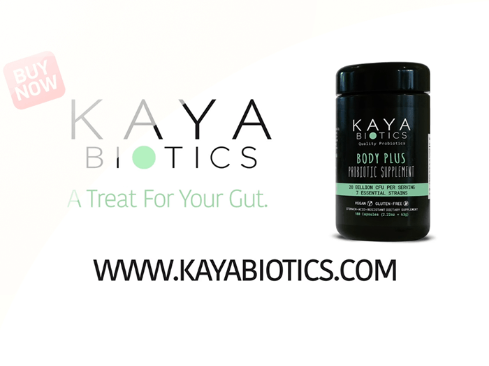 KAYA Biotics video reklāma