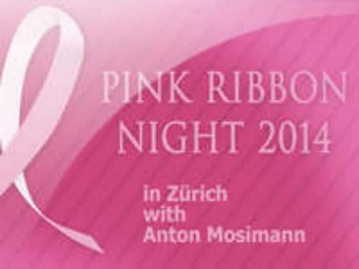 """Labdarības vakara """"Pink Ribbon Night 2014"""" uzņemšana Cīrihē"""