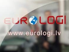 Logu uzņēmuma Eurologi reklāmas prezentācijas uzņemšana