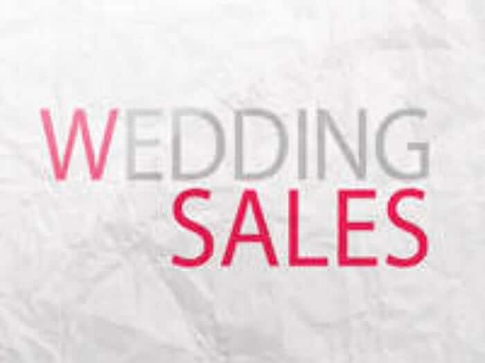Wedding Sales
